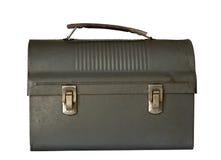 farsalunchbox gammalt s arkivbilder