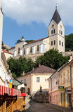Farsky Kostol Church Trencin Slovakia Stock Photo