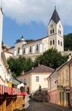 Farsky Kostol Church Trencin Slovakia stock photo