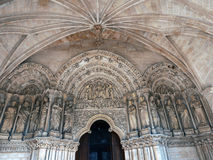 Farstubro av basilikahelgonseurinen i Bordeaux Royaltyfri Fotografi