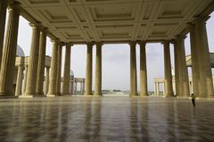 Farstubron av basilikan av vår dam av fred Arkivfoto