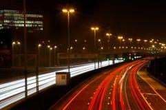 fartfylld trafik Arkivfoto