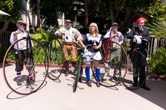 farthing grupowy centu steampunk Fotografia Royalty Free