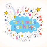 Farts делает вас счастливый Стоковая Фотография