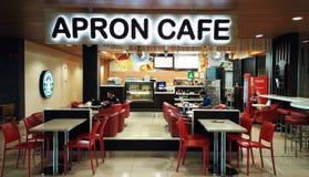 Fartuch kawiarnia Zdjęcie Royalty Free