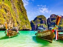 Fartyg av Thailand Arkivbilder