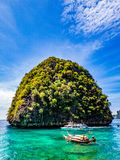 Fartyg av Thailand Fotografering för Bildbyråer
