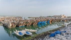 fartyg brutet fiske Royaltyfria Foton