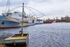Fartyg för att fiska Arkivbild