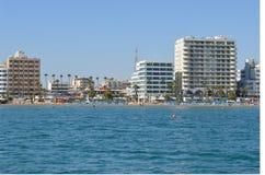 Fartyg för Cypern Larnaca fjärdö Royaltyfria Foton