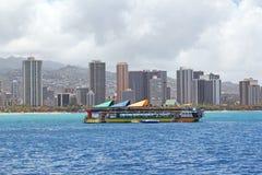 Fartyg för dykningkursturist Royaltyfri Fotografi