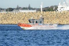 Fartyg för Fairhaven brandstationpatrull Royaltyfria Foton
