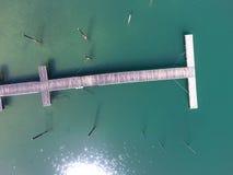 Fartyg för fartyg för hav för hav för vatten för gräsplan för landningetapp Arkivfoto