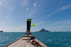 Fartyg för främre sikt Fotografering för Bildbyråer