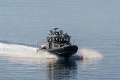 Fartyg för Massachusetts miljö- polispatrull Fotografering för Bildbyråer