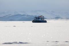 Fartyg för snöluftrörelse Royaltyfri Foto