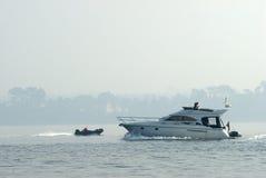fartyg fartfyllda två Royaltyfri Bild