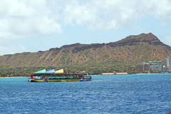 Fartyg för dykningkursturist Arkivfoto