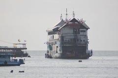 Fartyg i Bangkok, Thailand Arkivfoto