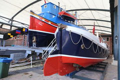 Fartyg i det Koc museet Royaltyfri Foto