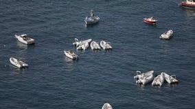 Fartyg i ett hav arkivfilmer