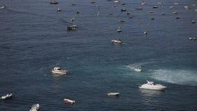 Fartyg i ett hav lager videofilmer