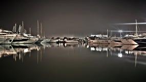 Fartyg i hamn Royaltyfria Foton