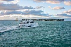 Fartyg i Key West Royaltyfri Fotografi