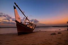 Fartyg i kusten royaltyfria foton