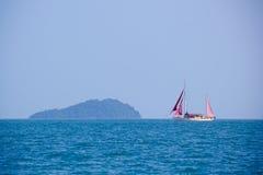Fartyg i Langkawi Royaltyfri Fotografi
