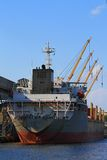 Fartyg i varven Royaltyfria Foton