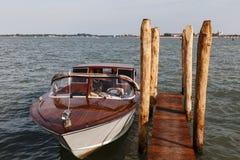 Fartyg i Venedig Arkivbild