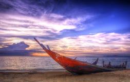 Fartyg och hav Fotografering för Bildbyråer