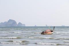 Fartyg och hav Royaltyfri Foto