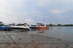 Fartyg och yachter Arkivfoton