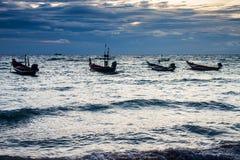 Fartyg på den Ko Tao ön Fotografering för Bildbyråer