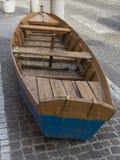 Fartyg på gatan Arkivbilder