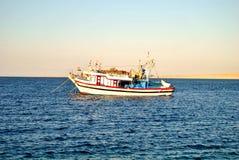 Fartyg på hav Arkivfoton