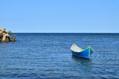 Fartyg på havet Fotografering för Bildbyråer