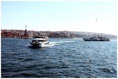 Fartyg på havet Royaltyfri Foto