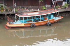 Fartyg på kanalen Royaltyfri Foto