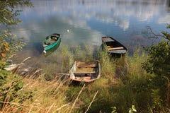 Fartyg på laken royaltyfria foton