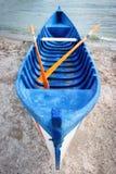 Fartyg på stranden Royaltyfri Fotografi