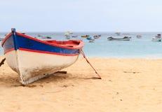 Fartyg Santa Maria Cape Verde arkivfoto
