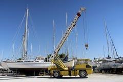 Fartyg som parkerar 3 Arkivfoton