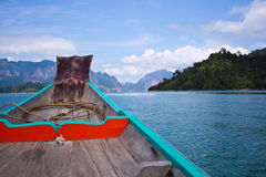 fartyg thailand Royaltyfri Bild