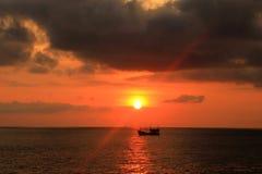 fartyg thailand Arkivbilder