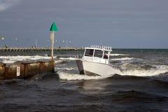 Fartyg till styrbord Fotografering för Bildbyråer