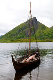 fartyg viking Royaltyfria Foton