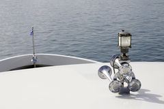 Fartygbilhorn med mycket kraftigt ljud Arkivfoton